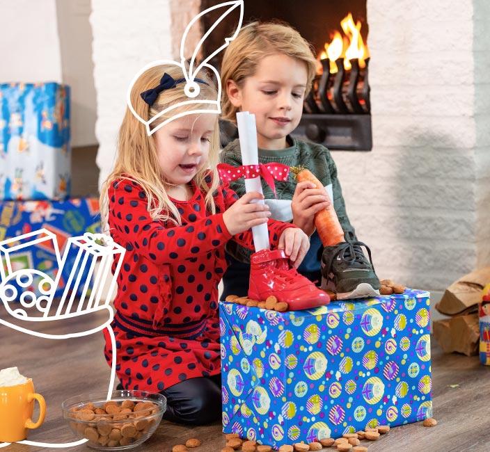 Sinterklaas bij Roompot